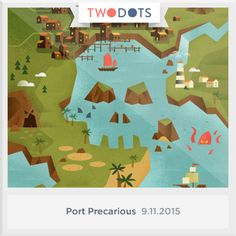 I found the Kraken's Eye in Port Precarious! Think you can beat my score? #PortPrecarious #TwoDots