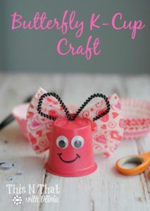 Don't throw away your used K-cups! You can re-purpose them into adorable crafts with your kids! I know that I use a lot of K-cups as I love my coffee and my Keurig! K Cup Crafts, Arts And Crafts, Plastic Cup Crafts, Plate Crafts, Plastic Cups, Preschool Crafts, Kids Crafts, Toddler Crafts, Diy For Kids