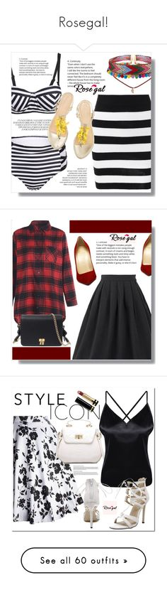 """Rosegal!"" by clumsy-dreamer ❤ liked on Polyvore featuring Spring, polyvoreeditorial, rosegal, Gucci, vintage, Chanel, NARS Cosmetics, Maybelline, Giorgio Armani and New Growth Designs"