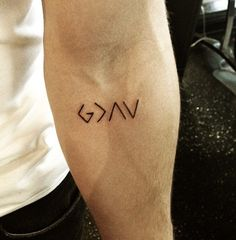 God is greater than the highs and lows, maybe behind my neck