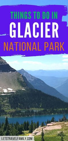 Fun things to do in Glacier National Park this summer on your Montana road trip. Be sure to add Glacier NP to your bucket list, as it's one of the most epic US National Parks to visit. Create your Glacier National Park itinerary here. Go on some excellent hikes and see real glaciers. #glaciernationalpark #nationalparks Summer On You, Glacier Np, National Parks Usa, Rocky Mountains, Family Travel, Kayaking, Montana, Stuff To Do, Things To Do