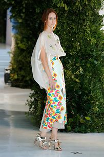 And Delpozo designer Josep Font continues to present some of the most whimsically beautiful designs at New York Fashion Week as a whole.   56 Crazy Wild And Fashionable Happenings From The First Half Of New York Fashion Week