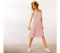 Pruhované šaty bez rukávů | vyprodej-slevy.cz #vyprodejslevy #vyprodejslecycz #vyprodejslevy_cz #sukne #saty #sleva #akce Style Retro, Summer Dresses, Fashion, Retro Chic, Women's Short Dresses, Stripes, Woman Clothing, Fashion Ideas, Sleeves