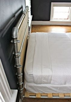 Industrial Bed-we could weave it with fire hose