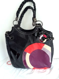 COACH LIMITED EDITION BLACK/PATENT LEATHER TOTE  MINT!! 100% AUTHENTIC Ret:$900. #Coach #TotesShoppers