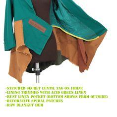 DENIZEN: a secret lentil luxe deconstructed coat - Secret Lentil Clothing