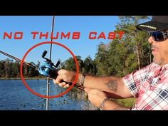 Cast your baitcast fishing reel with NO THUMB! Welcome to the fishing video teaching you how to cast your baitcast fishing reel the EASY WAY! Easy to underst. Fishing Tackle Bags, Fishing Tools, Fishing Equipment, Fishing Tricks, Fishing Stuff, Walleye Fishing, Carp Fishing, Bass Tournaments, Fishing Techniques