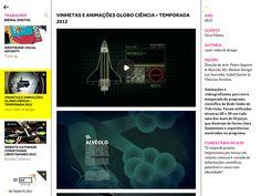 animes para o globo ciência 2012 em destaque na bienal de design gráfico da ADG.