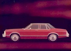 1975 Ford Granada Ghia Four Door Sedan