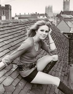 Young Joanna Lumley... sweetie darling