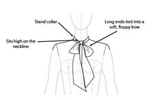 Pussy Bow Collar
