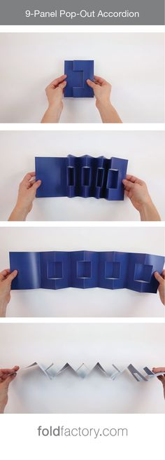 The 9-Panel Pop-Out Accordion is a fascinating and dimensional format that…