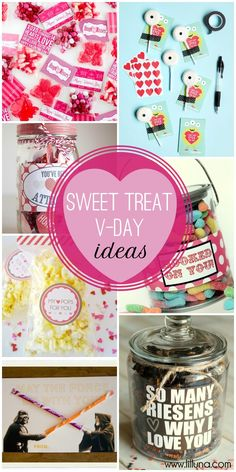 25+ Candy Valentine's Ideas on { lilluna.com } #valentines
