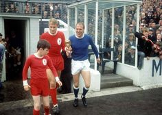 ROGER HUNT Liverpool and RAY WILSON everton teammates in the succesful ENGLAND WORLD CUP