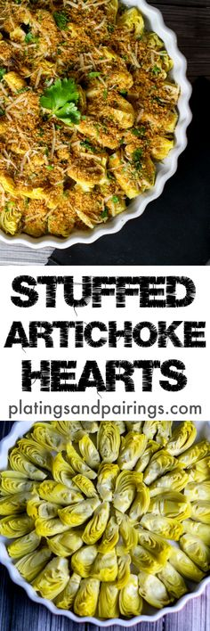 These were SO tasty! Just like whole stuffed artichokes but easier to throw together.