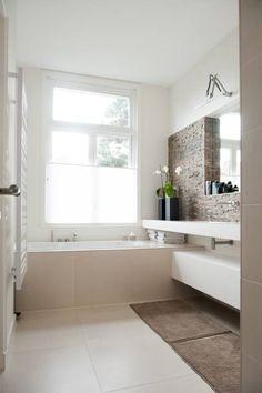 Ouder badkamer: moderne Badkamer door Studiohecht