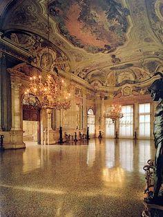 Ка' Реццонико, г. Венеция, Италия - полы терраццо 18 века