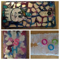 Handyhüllen aus Heißkleber und Nagellack