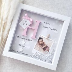 New Home, First Home, House Warming Gift, Scrabble Art Gift. Baby Boys, New Baby Girls, Cute Baby Gifts, Baby Girl Gifts, Goddaughter Gifts, Scrabble Art, Scrabble Frame, 1st Birthday Gifts, Baby Frame