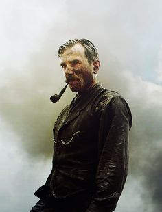 Daniel Day Lewis-Can't wait to see him in Lincoln. All time favorite.