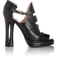 Fendi Cutout Platform Sandals at Barneys New York