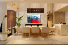 blue, red, white Home Projects, Flat Screen, Divider, Interior Design, Room, Abstract Paintings, Furniture, Home Decor, Blue