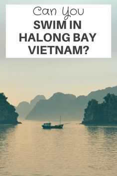 Can You Swim In Halong Bay Vietnam? #HalongBay has thousands of islands and islets which mean there are hundreds of beaches that offer plenty of opportunities to go #swimming. Generally, the water in Halong bay is calm, clean, and green. The #beaches around Halong Bay is not a bad place if you want to go sunbathing. #Vietnam #vietnamtravel #exploringvietnam Vietnam Travel Guide, Visit Vietnam, Ha Long Bay, Fishing Villages, Open Water, Natural Wonders, World Heritage Sites, Where To Go, Travel Around