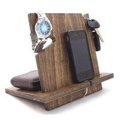 This docking station is compatible with all cell phones (with or without cases)…
