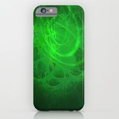 Void #4 Psychedelic Universe Vibrant Fractal Galaxy Pattern iPhone & iPod Case