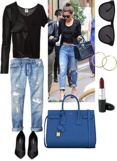 """Style steal~ Selena gomez"" by jasfashionx on Polyvore"