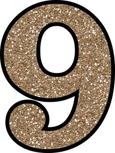 This set of free printable letters 0 - 9 have a glitter pattern and will add some glittery shine to your next craft or handmade card making project.: Glitter Number 0 To Print