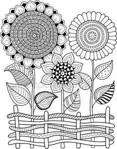 Dibujos de frutas y verduras para colorear az dibujos para colorear dibujos pinterest - Coloriage fleur britto ...