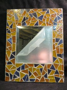 Abstract Mosaic Mirror by AimESmith on Etsy, $35.00