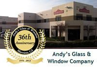 Rachel,   The two sliding doors are wonderful.  Your installers did a great job, were very clean and professional.  I will definitely use Andy's Glass for any future work and will recommend them highly to others.   Thanks! - Terry