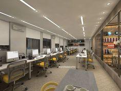 Corporate Office Design, Office Interior Design, Office Interiors, Office Furniture, Office Decor, Office Plan, Home Office, Office Ideas, Executive Office Desk