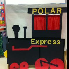 how to make a polar express train from cardboard boxes Polar Express Party, Polar Express Christmas Party, Polar Express Activities, Ward Christmas Party, Polar Express Train, Preschool Christmas, Christmas Activities, Christmas Themes, Kids Christmas