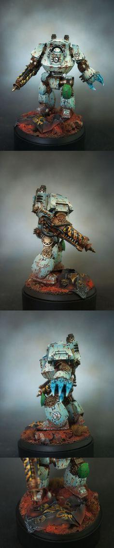 Death Guard Contemptor Dreadnought - Demonrich