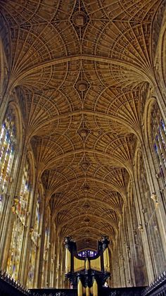 King's College Chapel, #Cambridge
