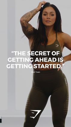 The secret of getting ahead is getting started. - Mark Twain The secret of getting ahead is getting started. – Mark Twain The secret of getting ahead is getting started. Fitness Workouts, Sport Fitness, Easy Workouts, Fitness Tips, Health Fitness, Easy Fitness, Fitness Plan, Workout Tips, Women's Health