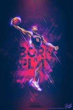 2014 NBA PLAYOFFS - BORN TO PLAY by Caroline Blanchet, via Behance