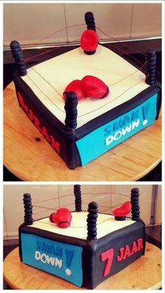Kickboksen taartje