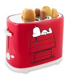 Peanuts Snoopy Hot Dog Toaster #zulily #zulilyfinds