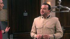 Giovanni Bejarano in The Big Bang Theory Comedy Series, Big Bang Theory, Bigbang, Bangs, Military Jacket, Fashion, Fringes, Moda, Military Field Jacket