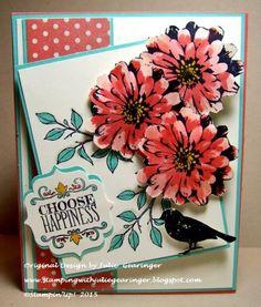 FMS173 Choose Happiness - Nature Bird Julie Gearinger