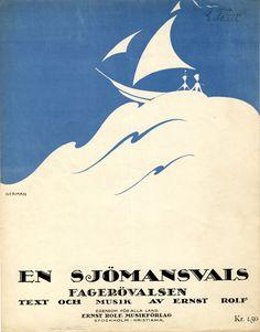 Einar Nerman, from the Images Musicales collection En sjömansvals, 1918