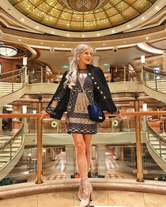 A list of the top cruise ship activities you can enjoy during your days at sea on your Princess Cruise Top Cruise, Cruise Travel, Cruise Vacation, Disney Cruise, Cruise Ship Pictures, Vacation Pictures, Summer Cruise Outfits, Cruise Attire, Cruise Fashion