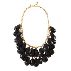 Kate Spade cascade necklace.  Yep.  And I wear it more than I expected.  I love that feeling...