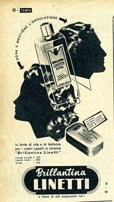 Billantina Linetti, pubblicità anni '50, agosto 1953 #TuscanyAgriturismoGiratola