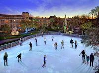 For Thanksgiving- The Fairmont Scottsdale Princess has a great package that includes skating in their Desert Ice skating rink!