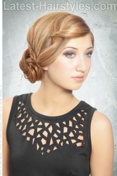 20 Completely Easy Long Hair Updos For You To Try